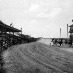 Original Grand Stand and Race Track